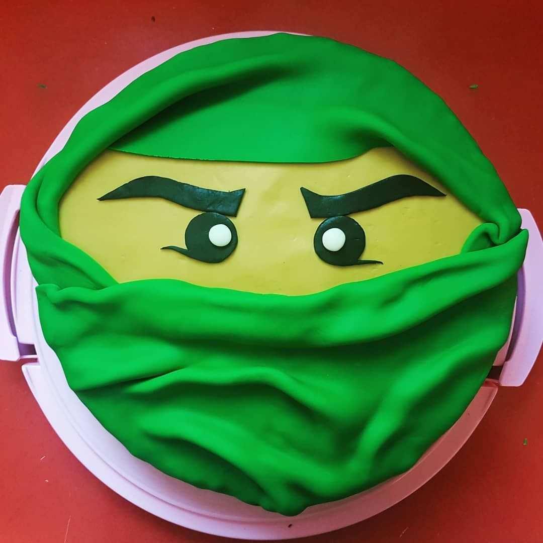 Ninjago Legoninjago Cake Fondant Ninjagocake Selfmade Baking Sachertorte Sachercake Kinder Torten Kindertorte Sacher Torte