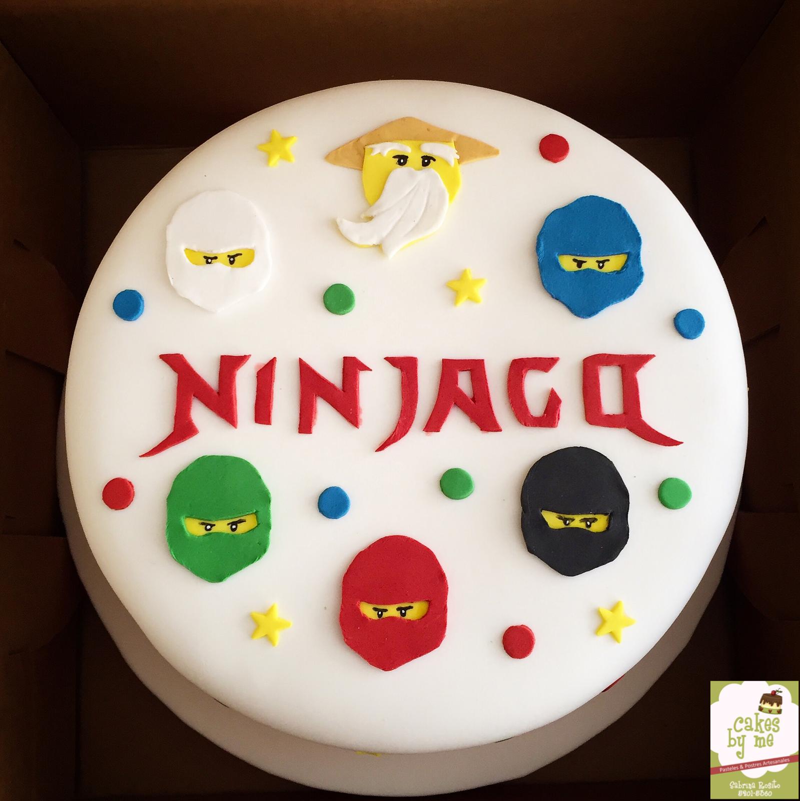 Ninjago Cake Geburtstagskuchen Kinder Motivtorte Lego Geburtstagsparty