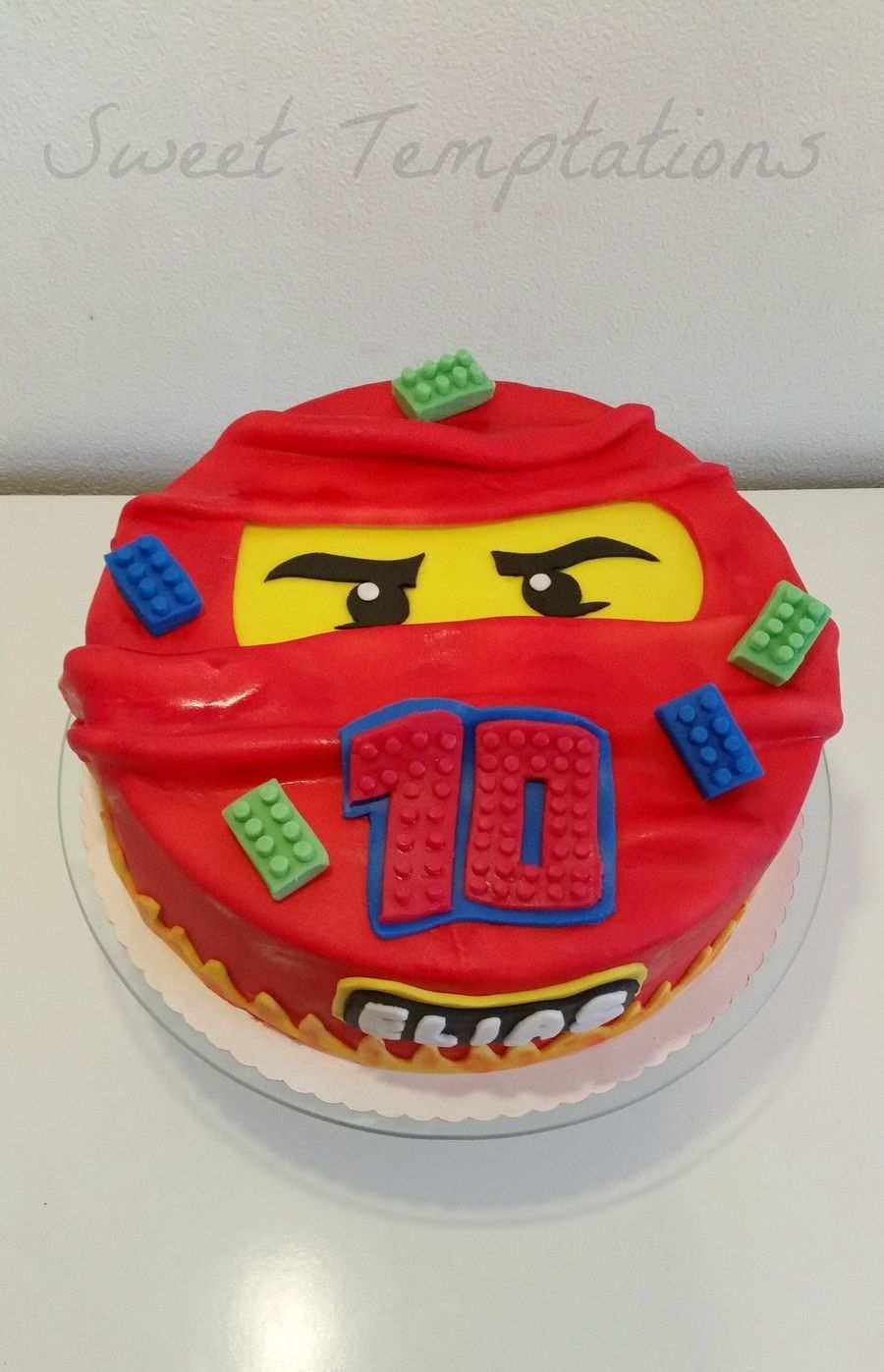 Lego Ninjago Cake Lego Ninjago Cake Ninjago Cakes Ninjago Birthday Party