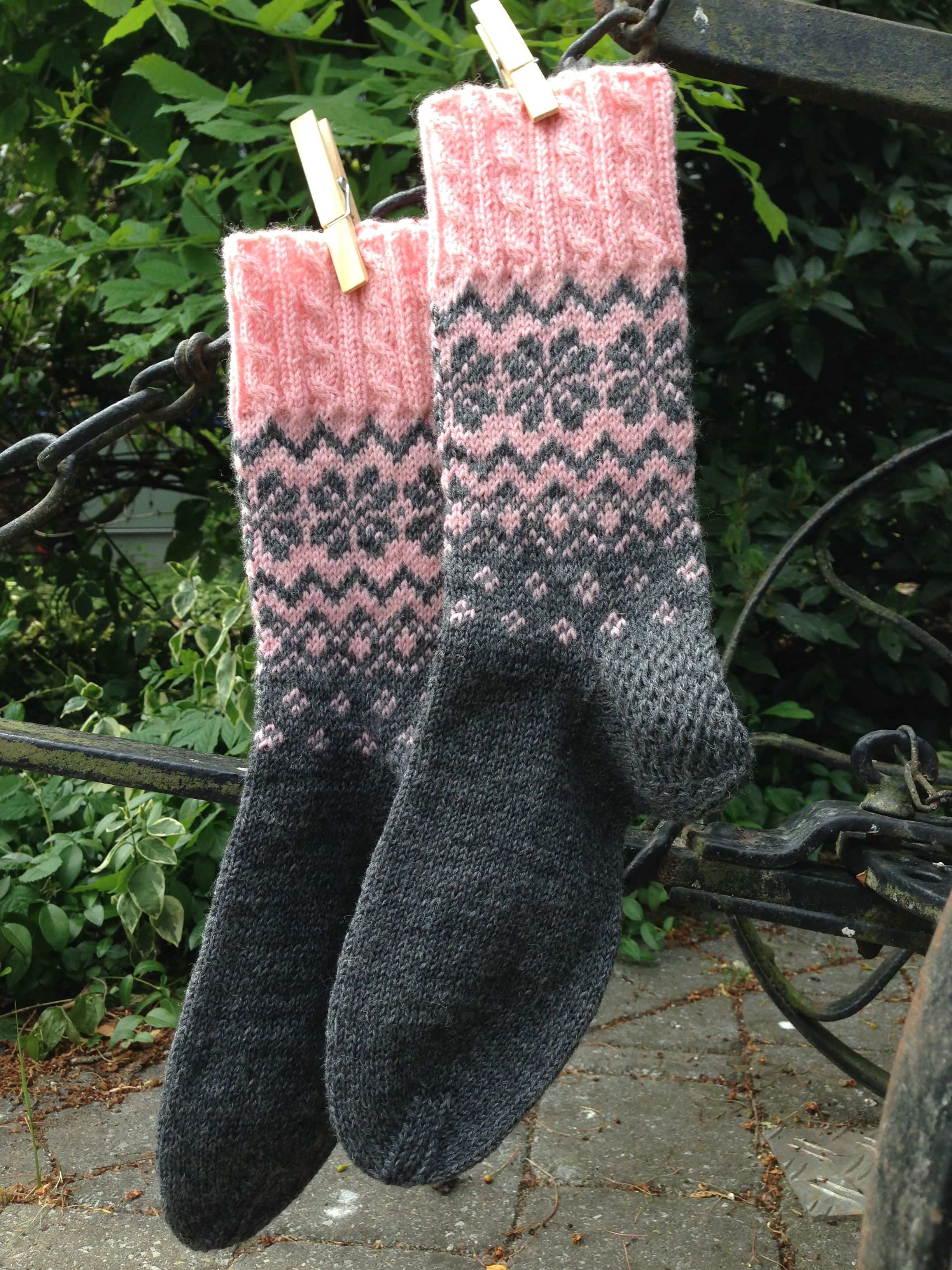 Norwegermuster Mit Liebe Selbstgemachtes Norwegermuster Stricken Socken Stricken Muster Norwegermuster