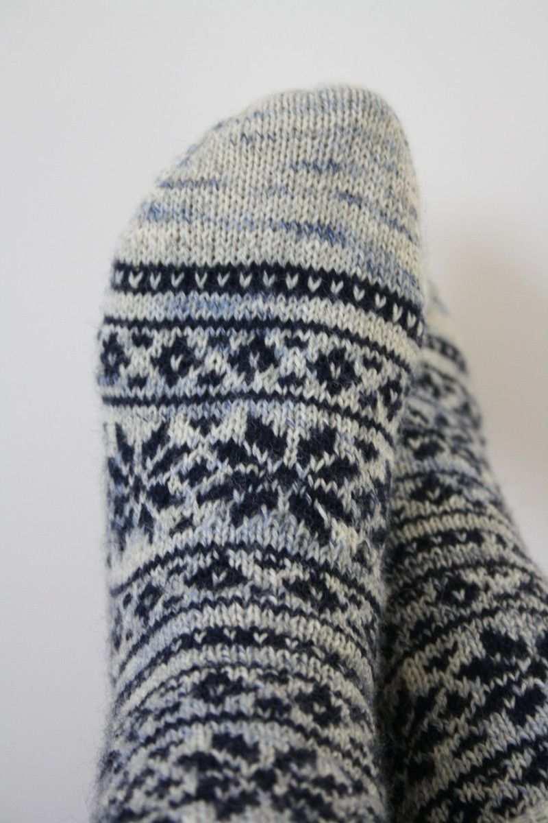 Hundertdrei Socken Stricken Muster Socken Stricken Norweger Socken