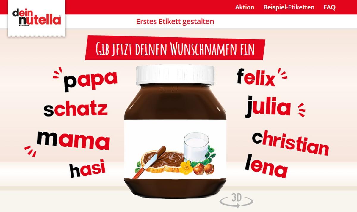 Nutella Etikett Selbst Gestalten So Geht S Chip