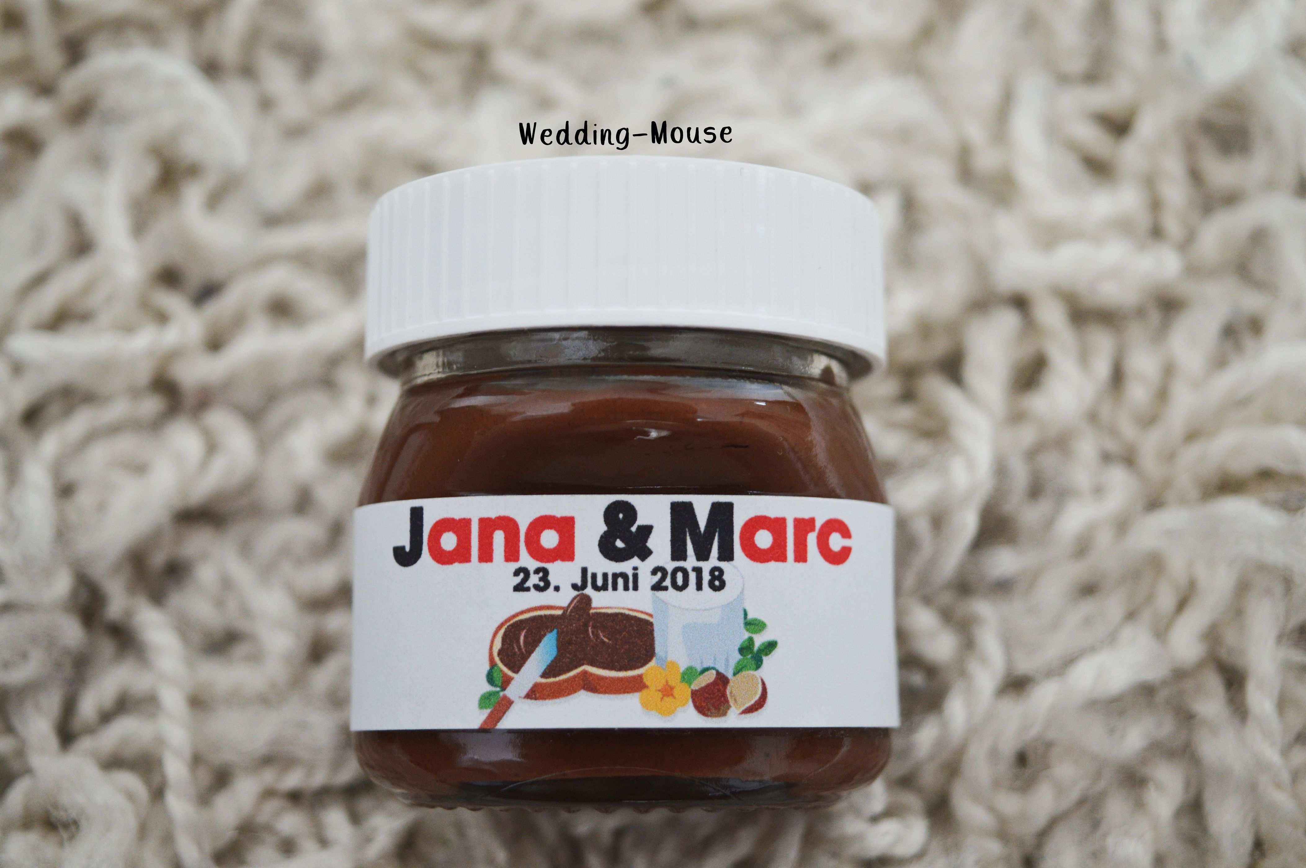 25x Nutella Etiketten Fur 25g Gastgeschenk Namen Wedding Etsy Nutella Produkte Nutella Etikett Gastgeschenke