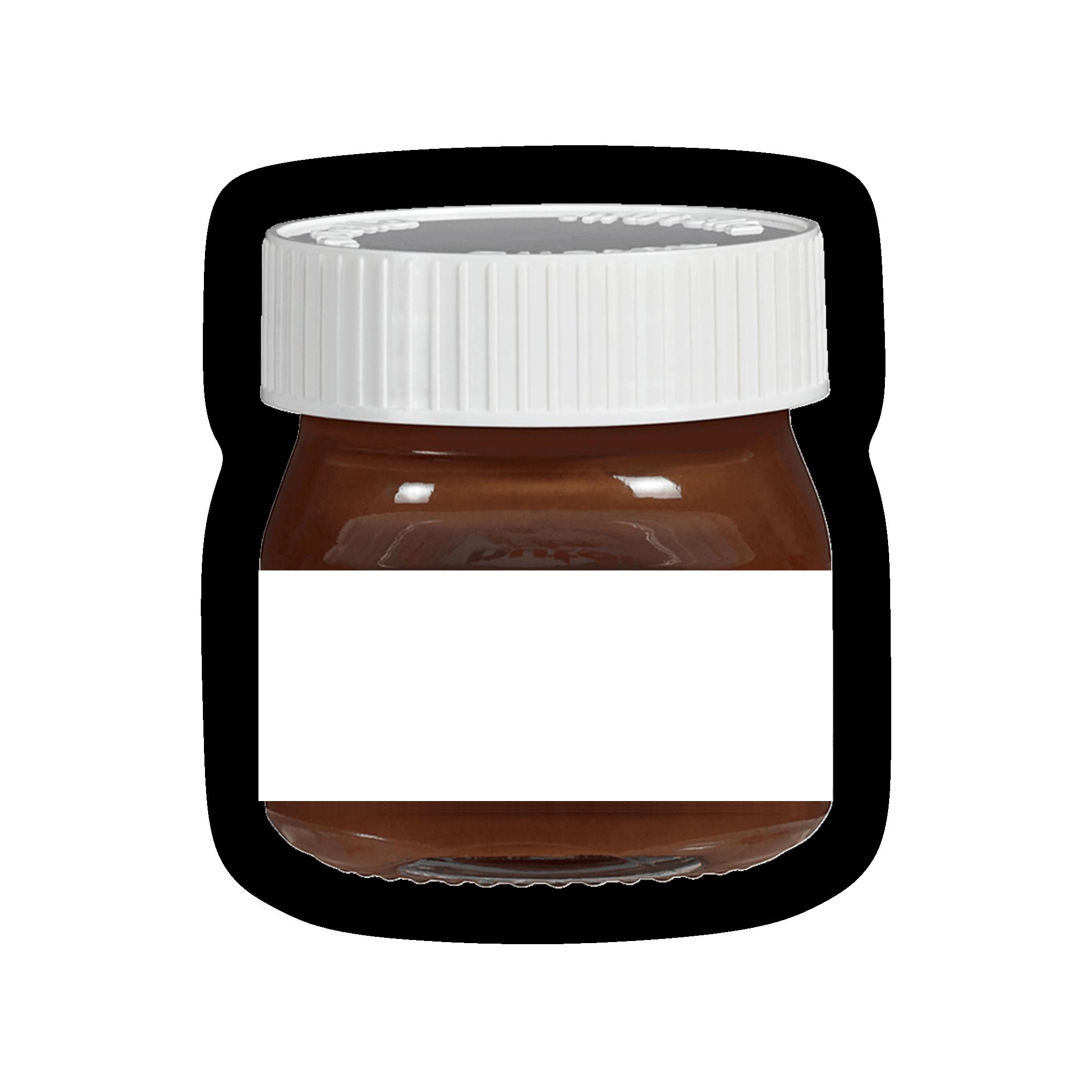 Selbst Gestaltete Etiketten Fur Mini Nutella Geschenke Mit Herz