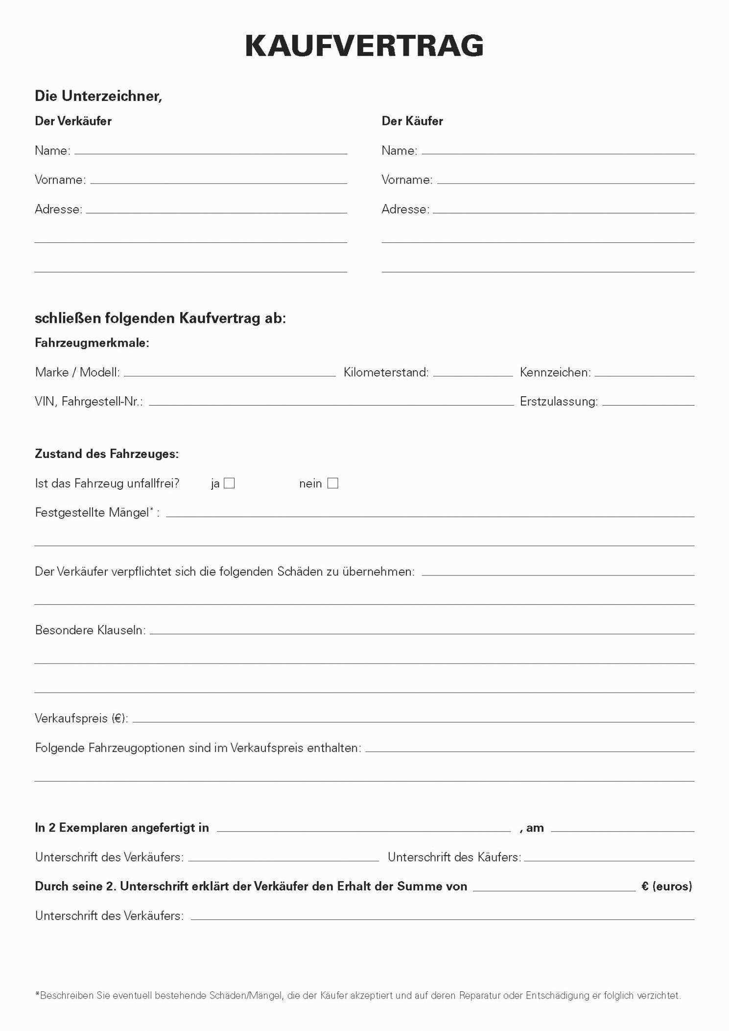 15 Muster Kaufvertrag Kfz Lehavreactif Harmonischerstaunlich Kfz Kaufvertrag Vorlage Kaufvertrag Vorlage Wolle Kaufen Kaufvertrag