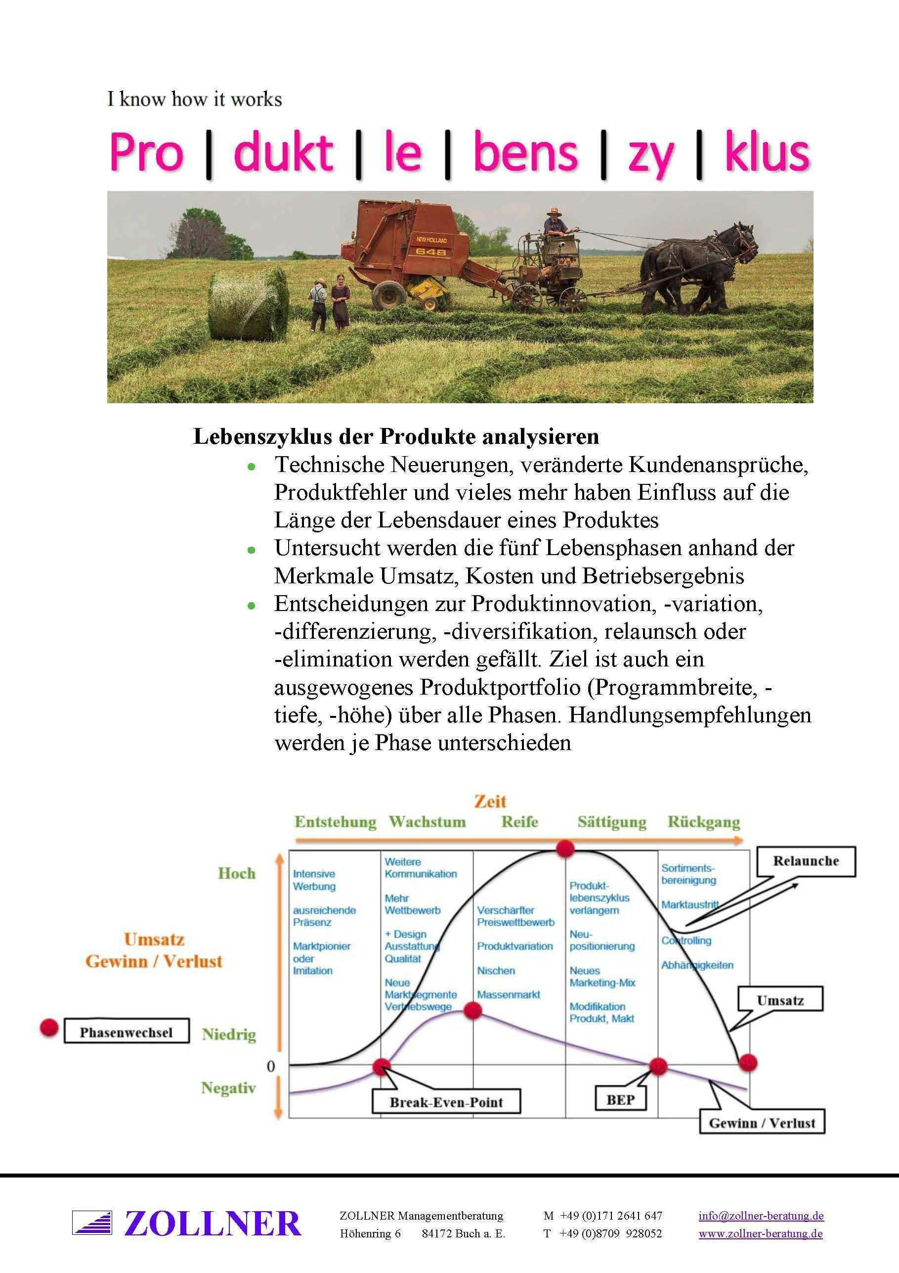 Toolbox Lebenszyklus Der Produkte Analysieren Technische Neuerungen Veranderte Kundenanspruche P Analysieren Organisationsentwicklung Strategieentwicklung