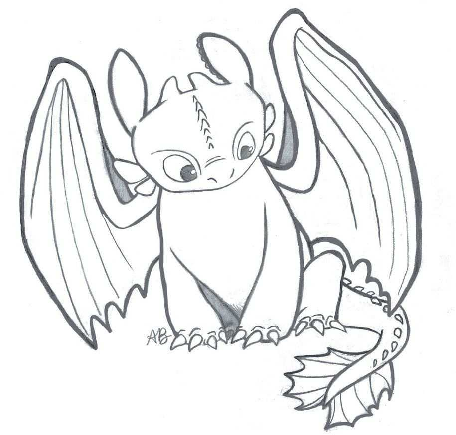 Httyd Toothless The Night Fury By Alexbee1236 On Deviantart Dragon Coloring Page Dragon Sketch Dragon Drawing