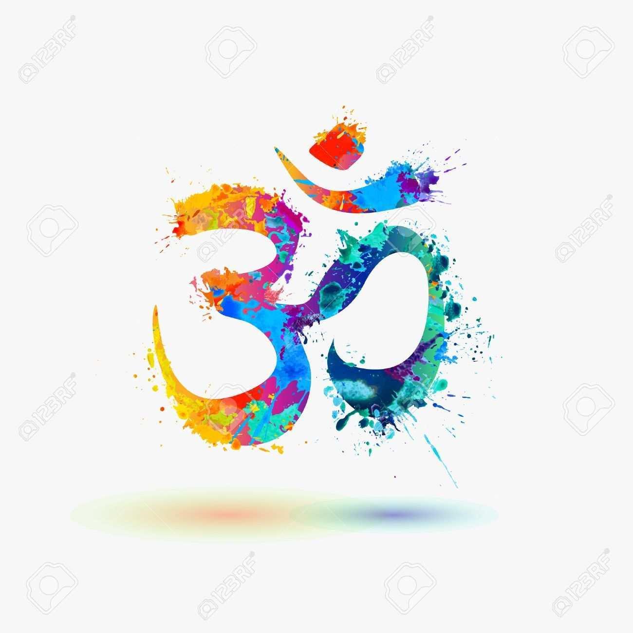 Om Hindu Lucky Symbol Aff Hindu Om Symbol Lucky Bras