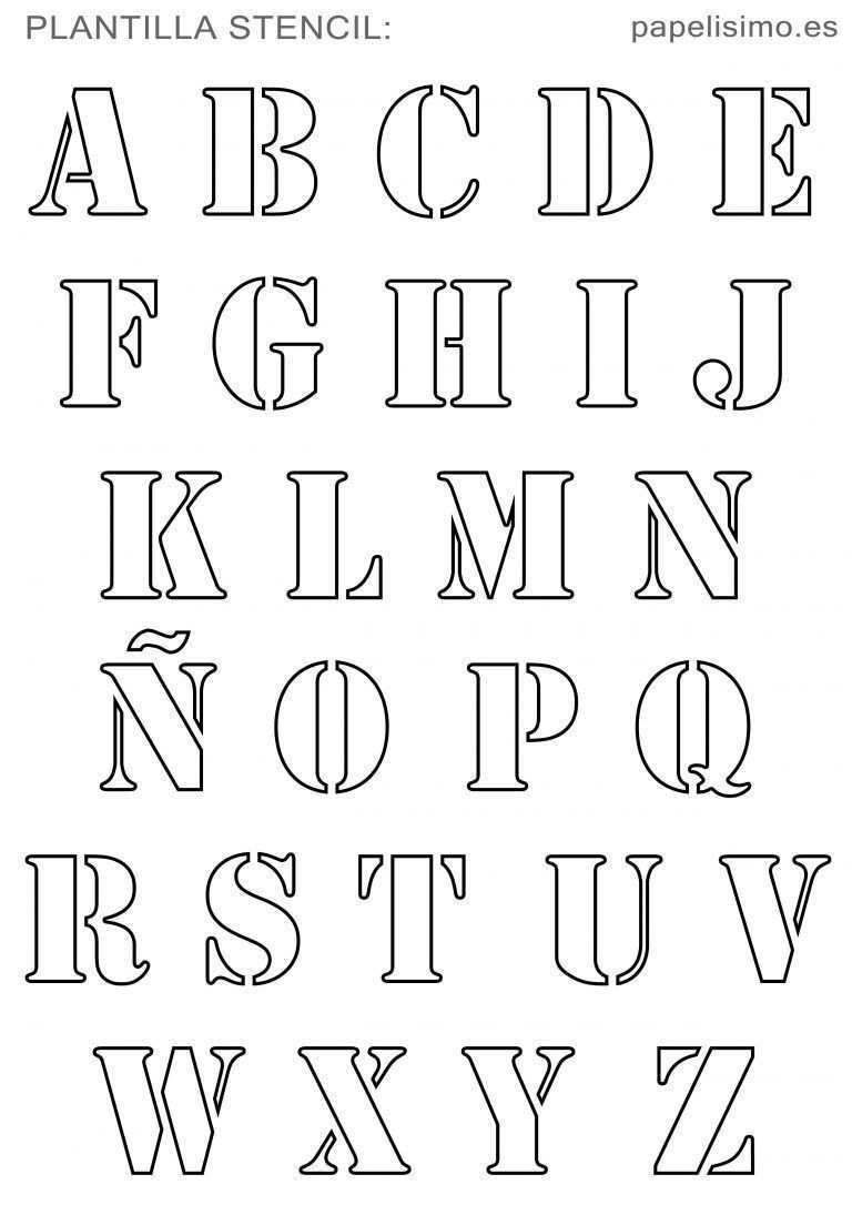 Original Alphabet Template To Print Alphabet Font Scho Vorlagen Alphabet Scha Alphabet Schriftarten Alphabet Schablonen Buchstaben Vorlagen Zum Ausdrucken