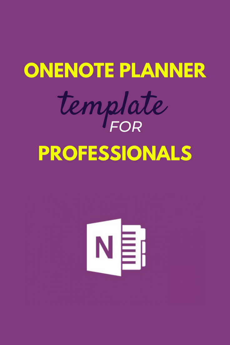 Simple Onenote Planner Template In 2020 Planner Template Onenote Template One Note Microsoft
