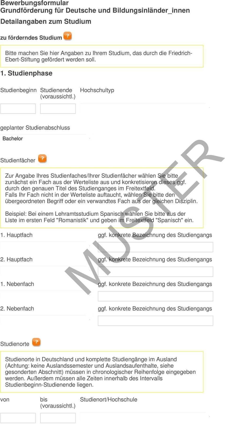 Muster Bewerbungsformular Grundforderung Fur Deutsche Und Bildungsinlander Innen Angaben Zur Person Aktuelle Anschrift Pdf Free Download