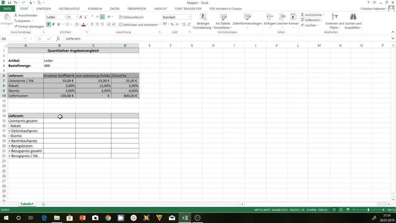 Angebotsvergleich Excel Eine Excel Vorlage Fur Den Excel Vorlage Tabelleschongestalten Flipchartgestaltentabelle Notizenge In 2020 Sheet Music Periodic Table