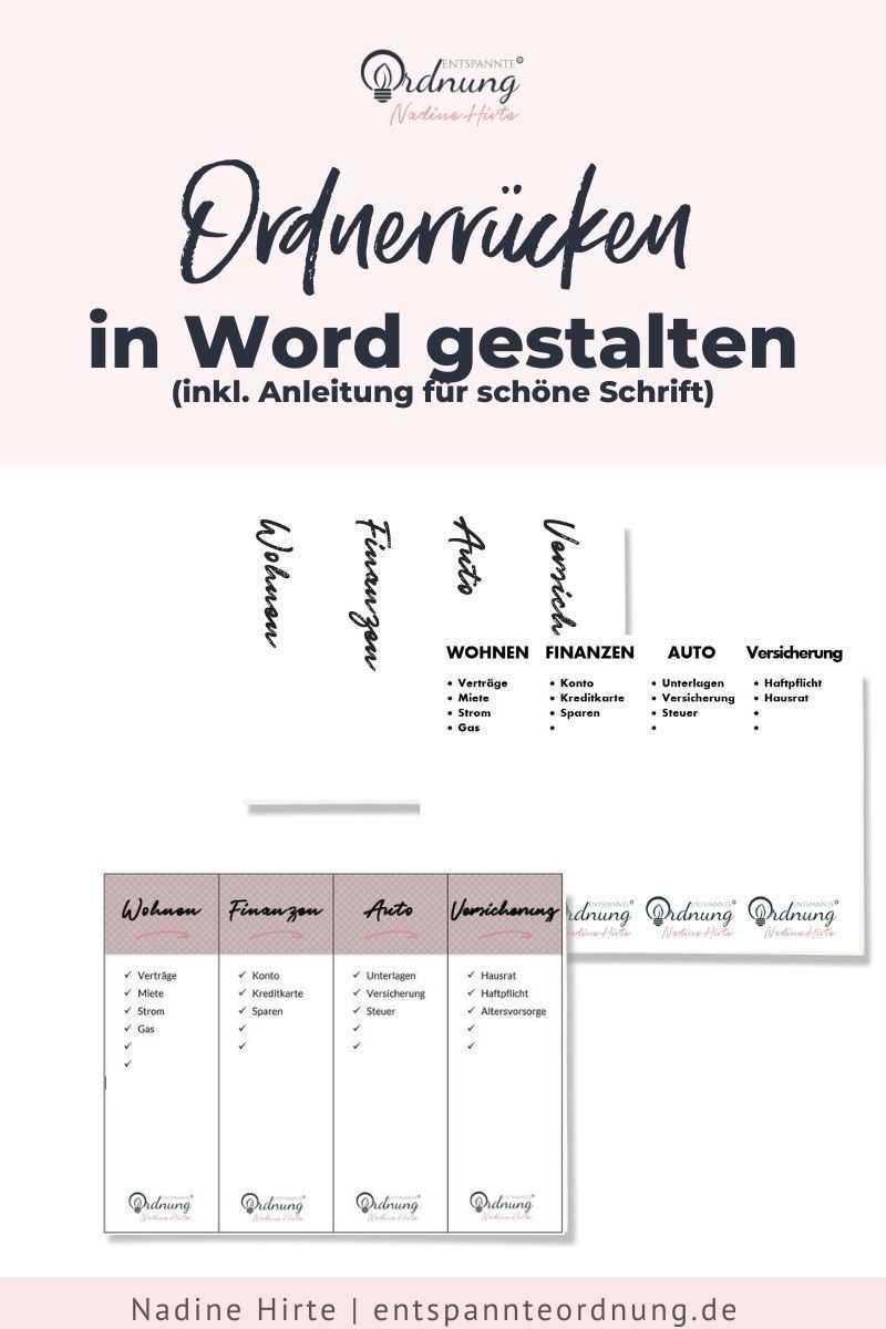Ordnerrucken Word Kostenlose Vorlage Zum Download In 2020 Ordnerrucken Ordnerrucken Vorlage Ordnerrucken Word
