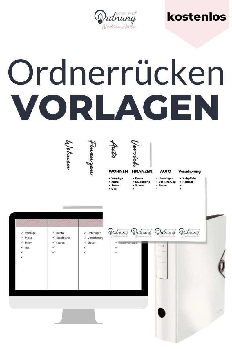 Kostenlose Ordnerrucken Vorlage In 2020 Ordnerrucken Vorlage Ordnerrucken Word Ordner