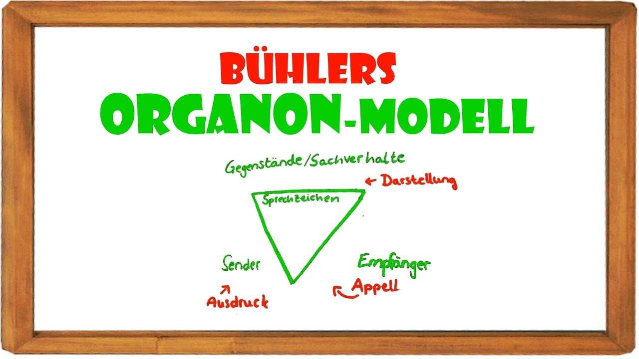Das Organon Modell Einfach Erklart Elenalina Youtube