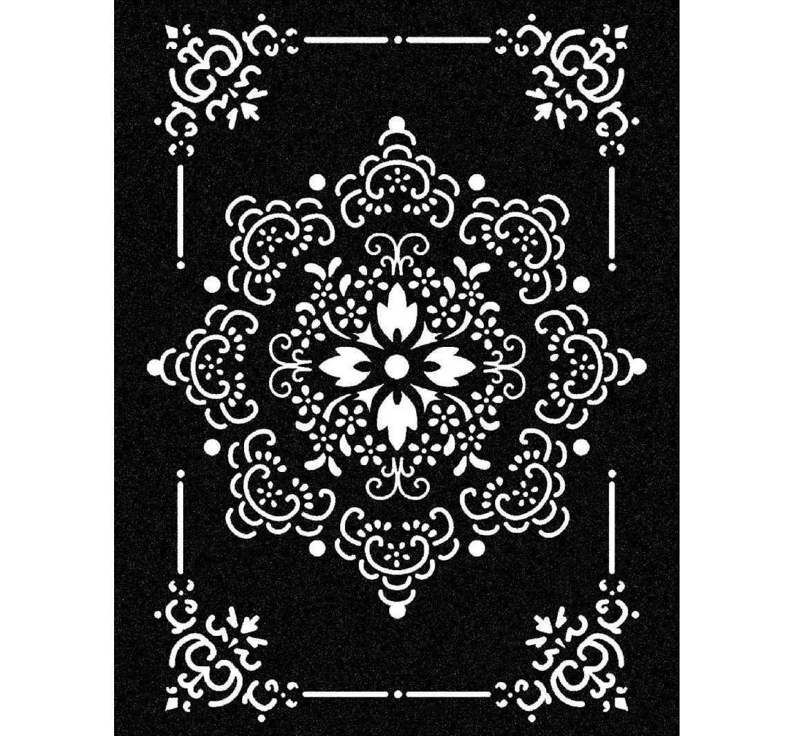 Schablone Ornament Stamperia Schablonen Schablone Fur Wand Schablone Designs