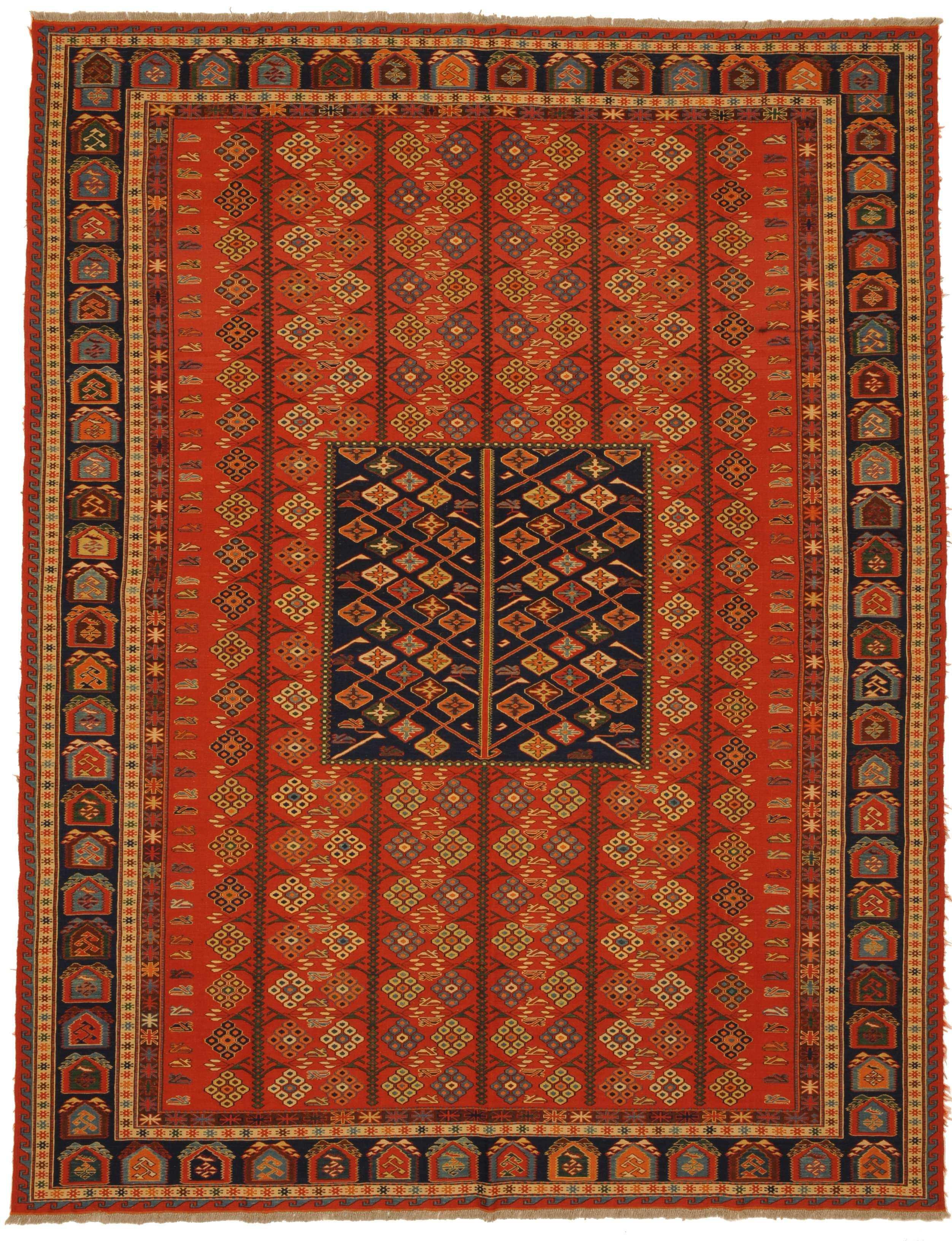 Ersari Sumakh Teppich Orient Teppich Naturfarben