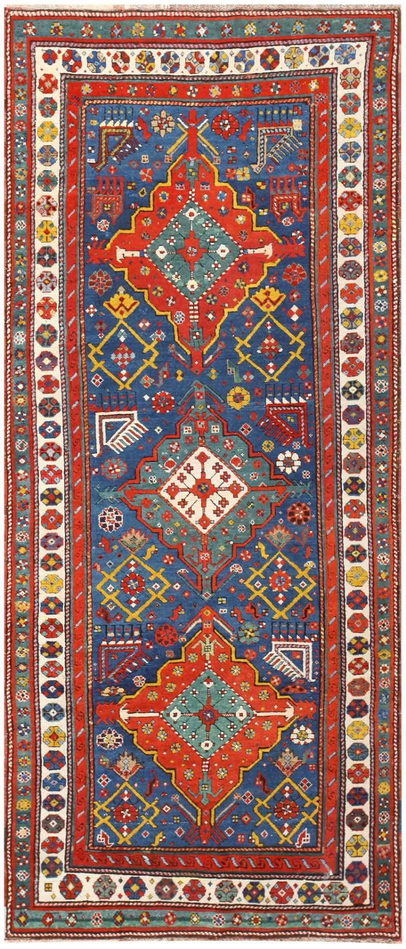 Antique Geometric Caucasian Talish Rug Runner 48462 Nazmiyal Rugs Rugs Rugs On Carpet Carpet Fabric