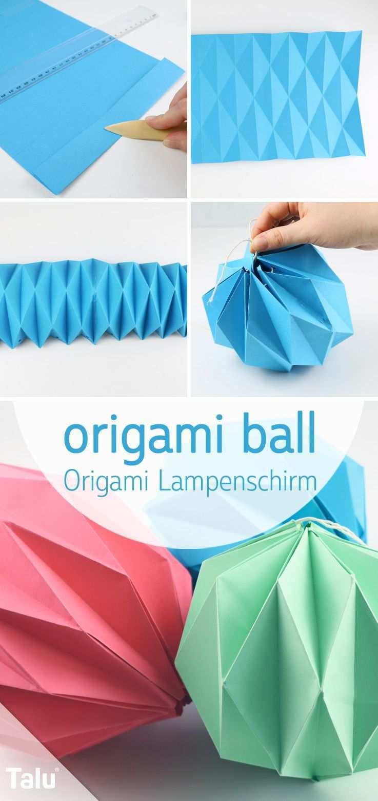 Origami Lampe Falten Lampenschirm Aus Papier Basteln Talu De Origami Lampenschirm Origami Lampe Falten Basteln Mit Papier Origami
