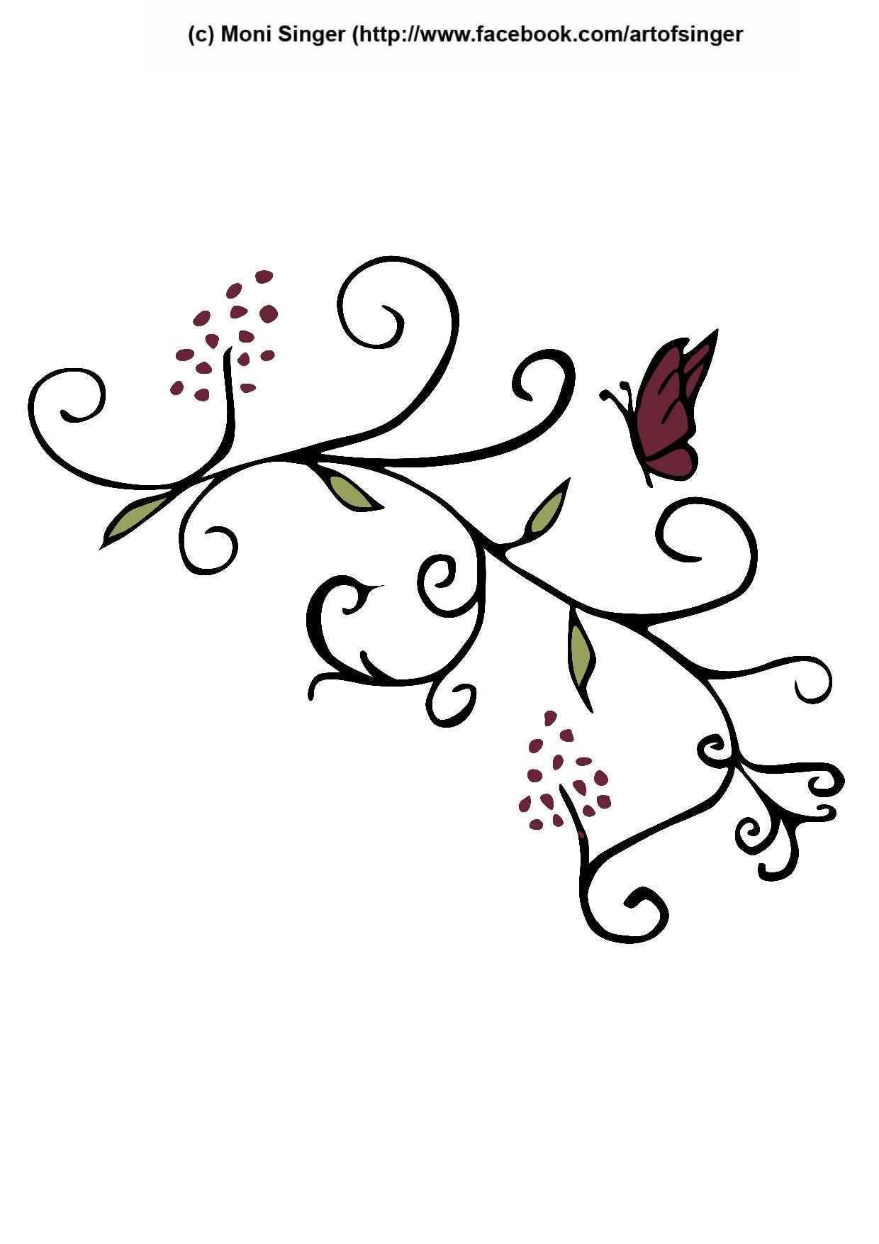 Silhouette Plotter File Free Plotter Datei Kostenlos Plotter Freebie Flower Blumen Ornamente Ornamente Vorlagen Clipart Kostenlos Plotter Kostenlos