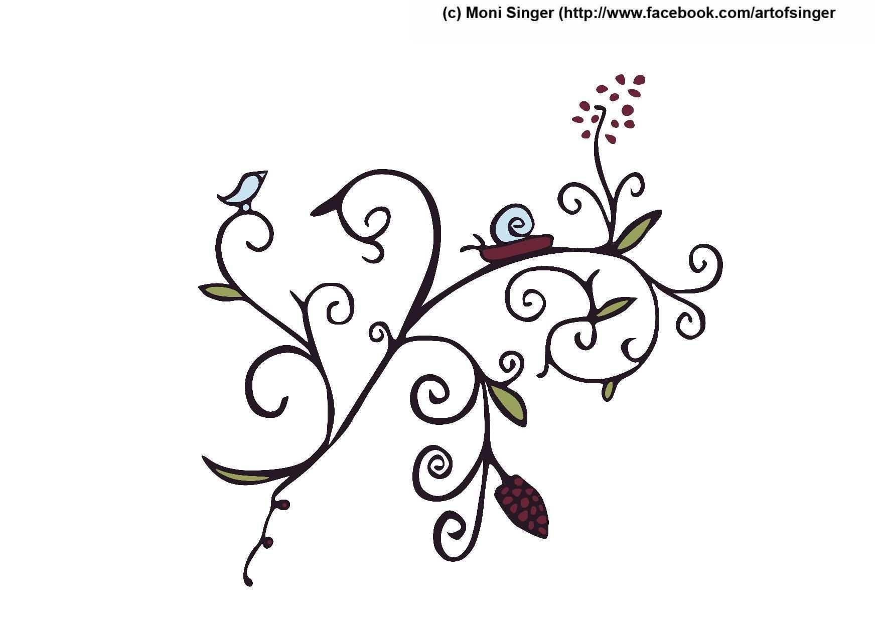 Silhouette Plotter File Free Plotter Datei Kostenlos Plotter Freebie Flower Blumen Ornamente Plotterdatei Silhouetten Projekte Kreativ