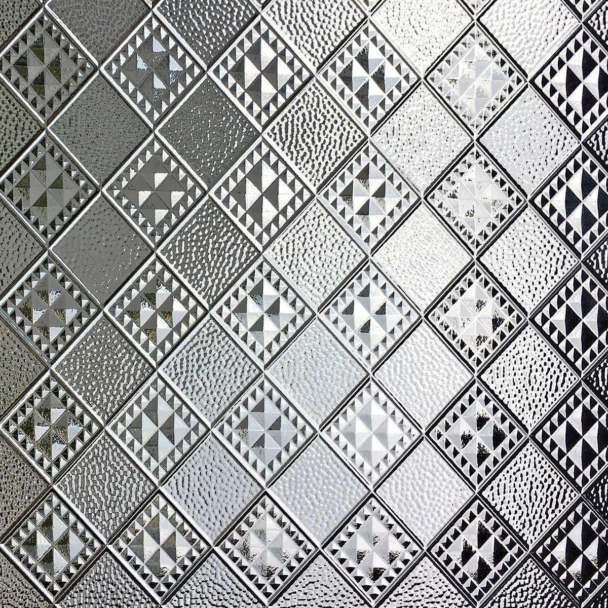 Ornamentglas Prisma 81 X 110 Weiss Von Replicata Replikate