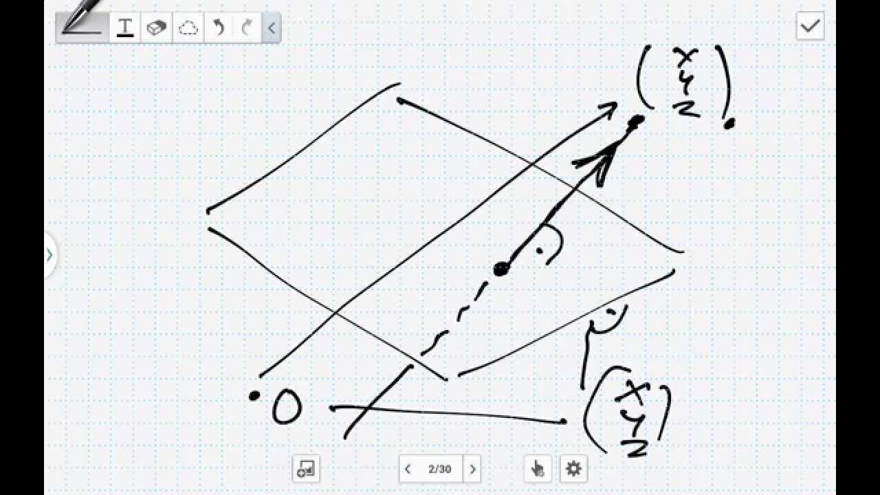 Die Orthogonale Projektion Lineare Albebra Youtube