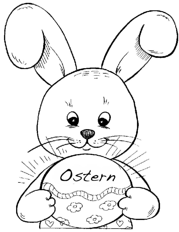 Ausmalbilder Osterhase Osterhasen Bilder Osterhasen Bilder Zum Ausmalen Ostern Zeichnung