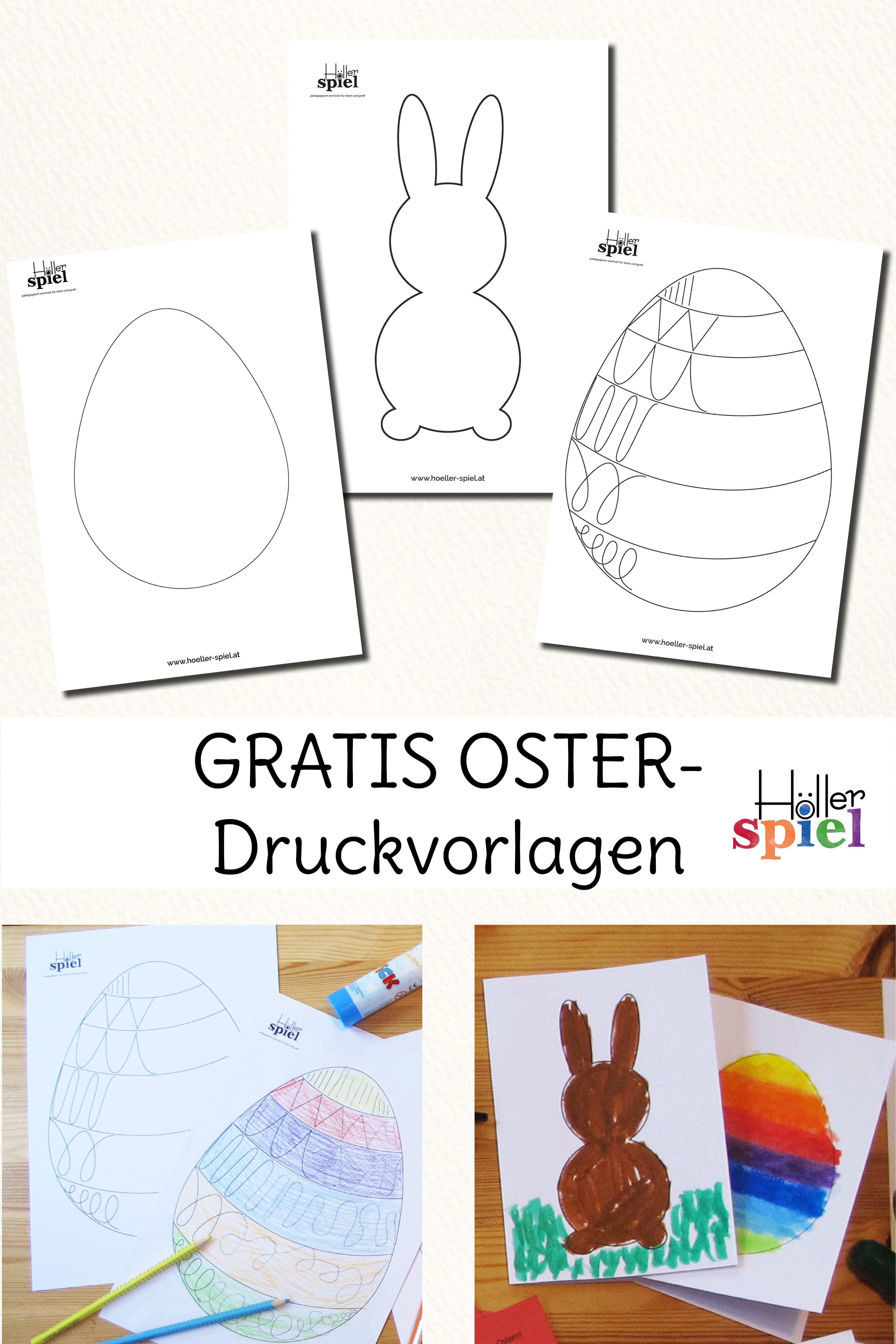 Gratis Ostervorlagen In 2020 Osterkarten Basteln Vorlagen Ostern Vorlagen