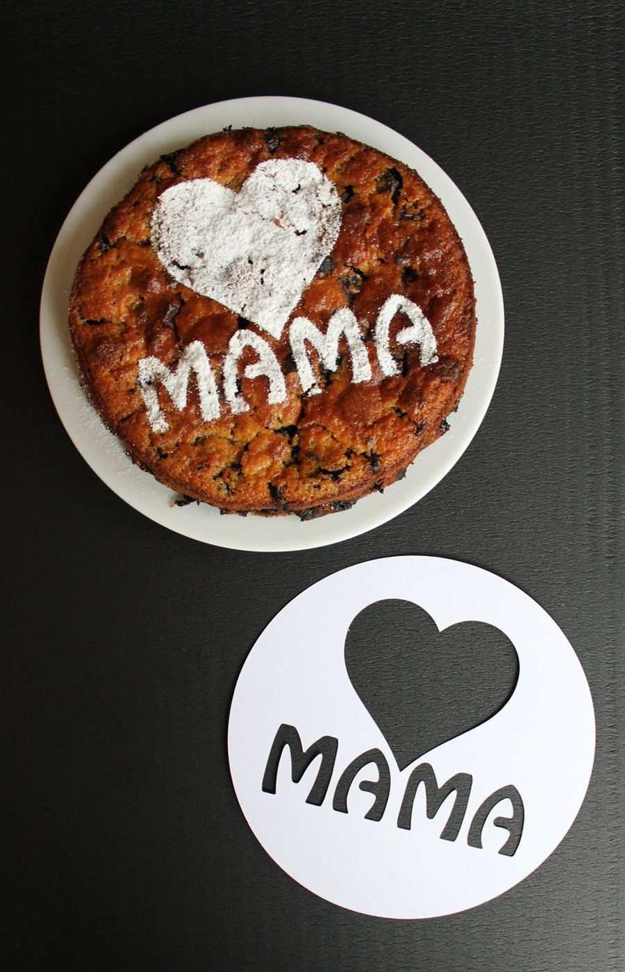 Vorlage Fur Puderzucker Schablone Fur Muttertagskuchen Plotterfreebie Muttertagskuchen Kuchen Schablone Cupcakes Selber Machen