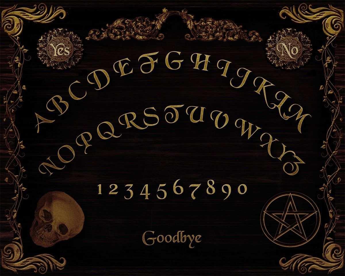Digital Printables Free Ouija Board Printable Ouija Ouija Board Halloween Printables