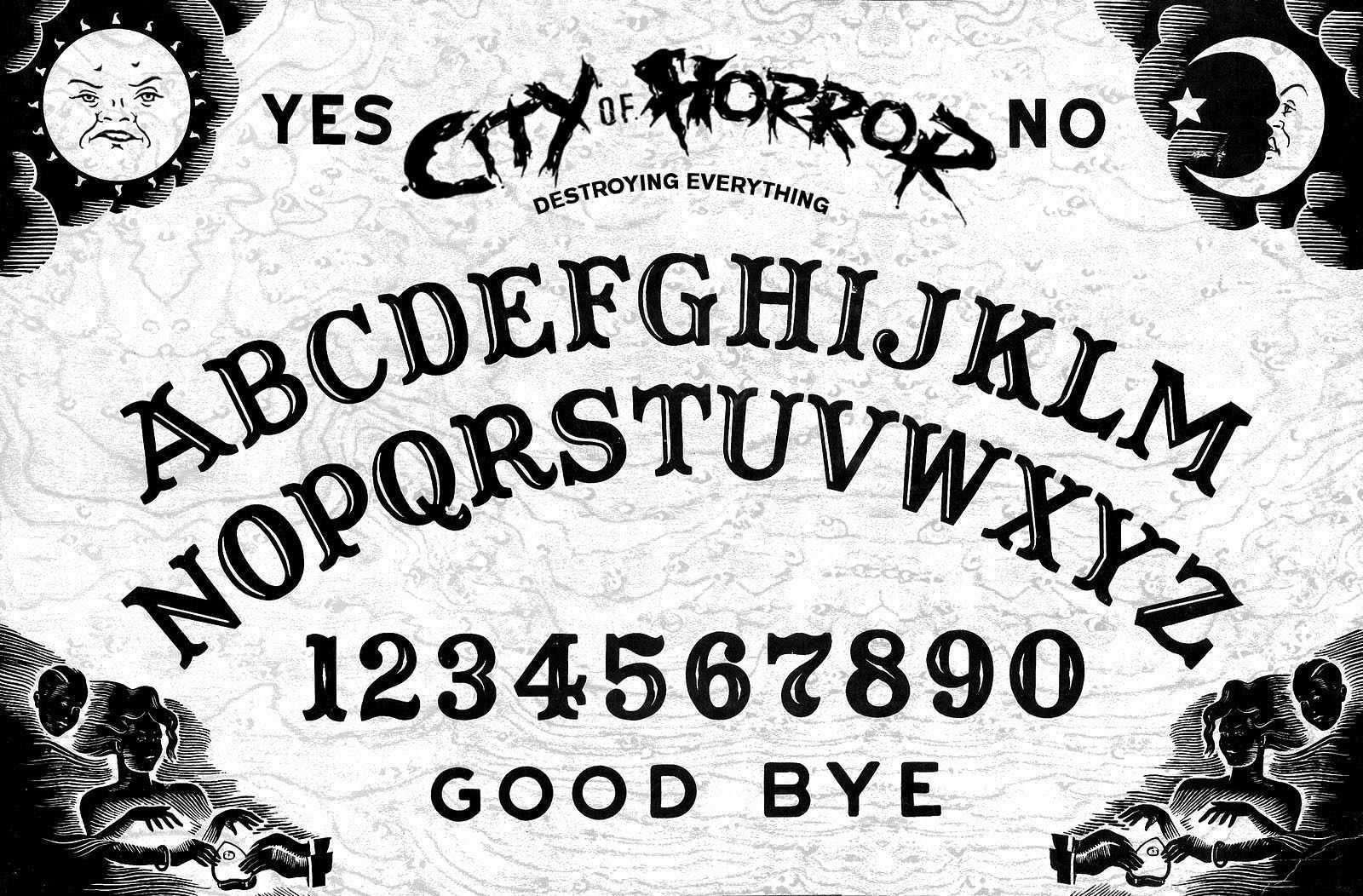 Cityofhorrorpatch1 28b 26w 29 Jpg 1 600 1 052 Pixeles Ouija Ouija Board Trippy Gif