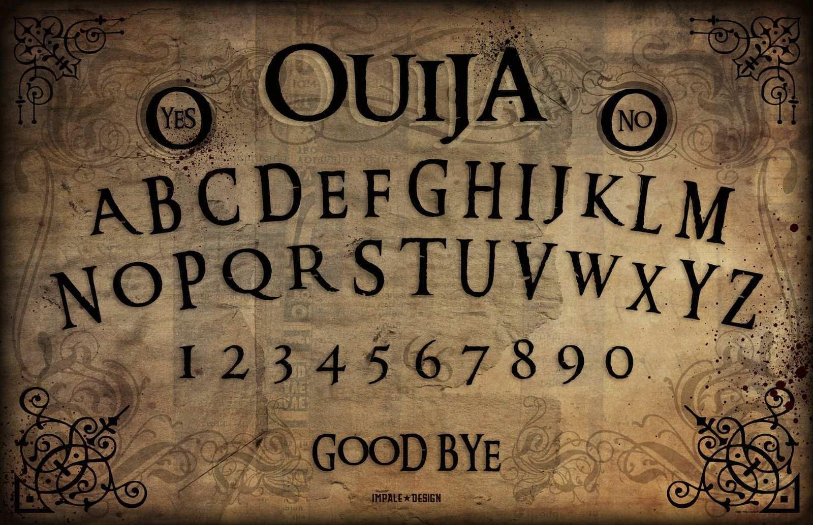 Ouija Board Gravedigger By Impale Design Ouija Ouija Board Witch Board