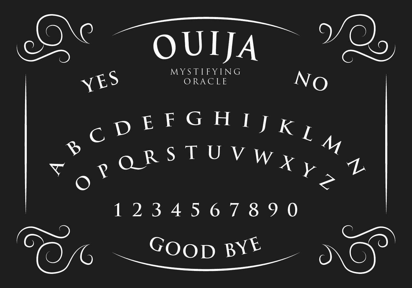 Ouija Board Ouija Ouija Board Quija Board