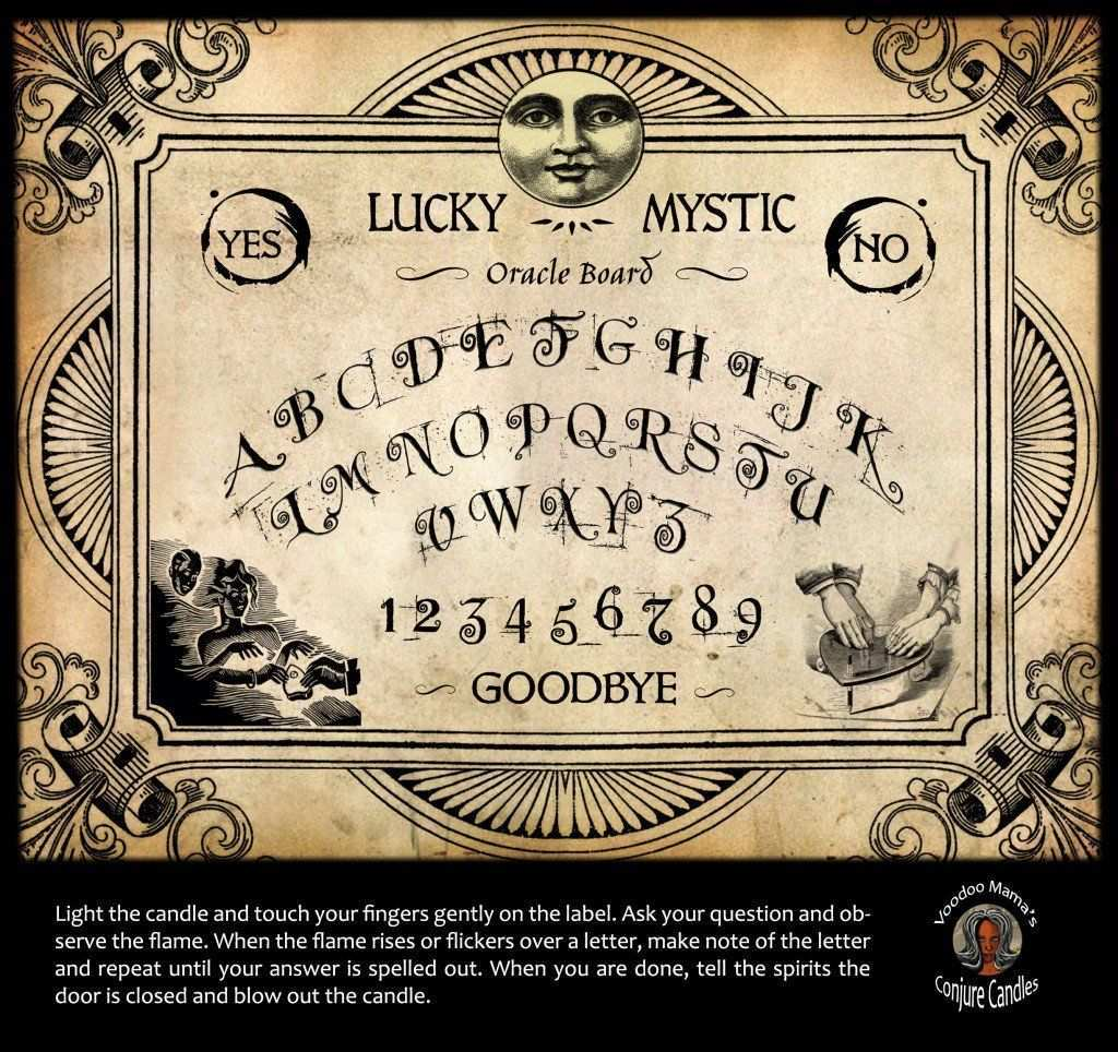 Making A Basic Ouija Board Is A Relatively Simple Task They Can Be Made Out Of Literally Any Material S Make It Yourself Halloween Potion Bottles Ouija Board