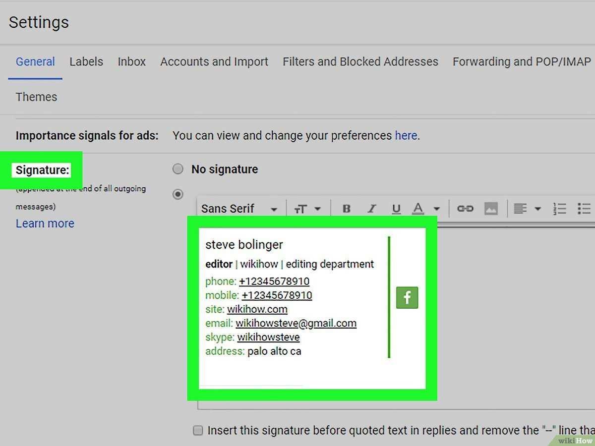 Eine Html Signatur Erstellen 11 Schritte Mit Bildern Wikihow