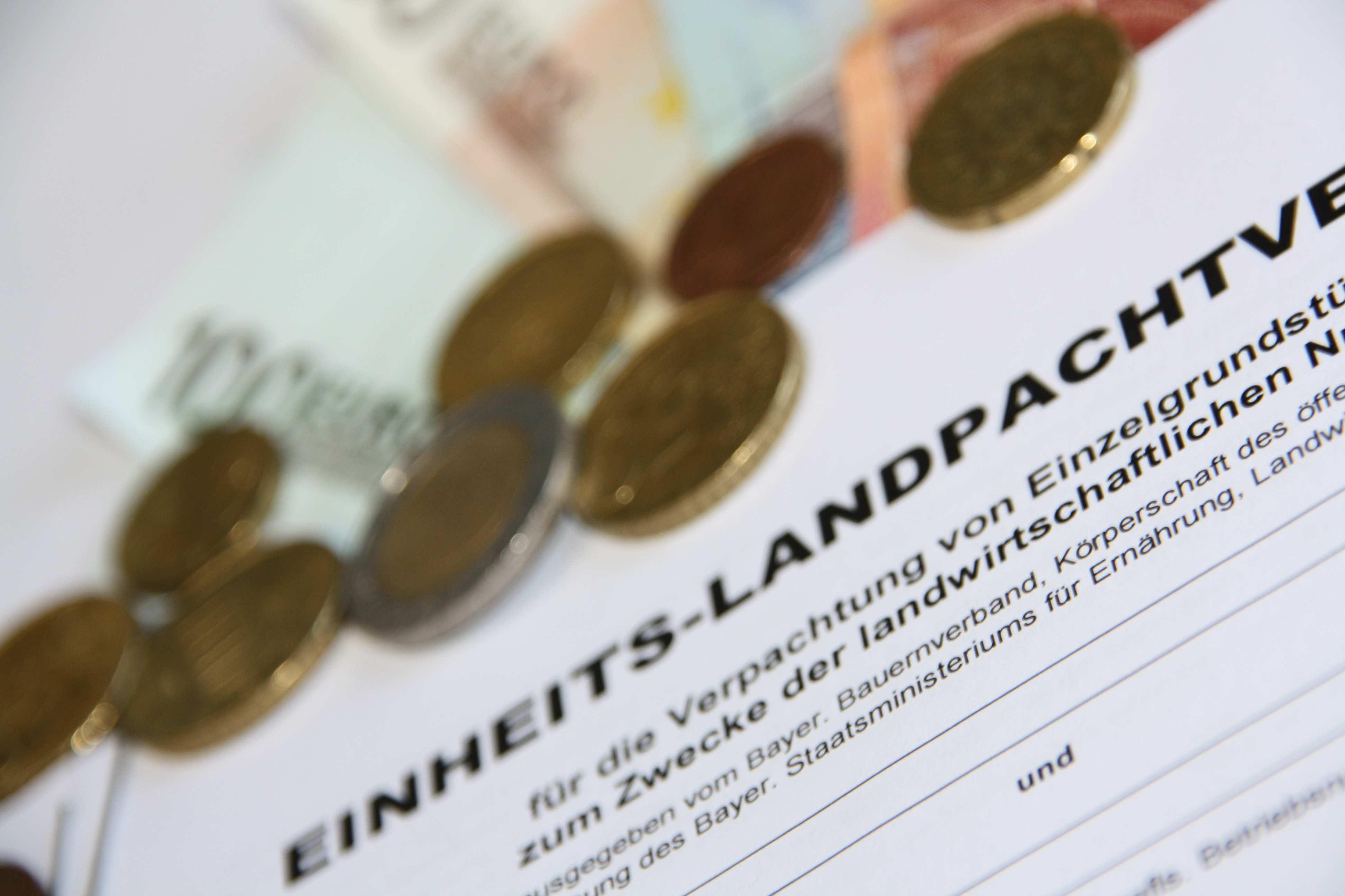 Pachtvertrage Bayerischer Bauernverband