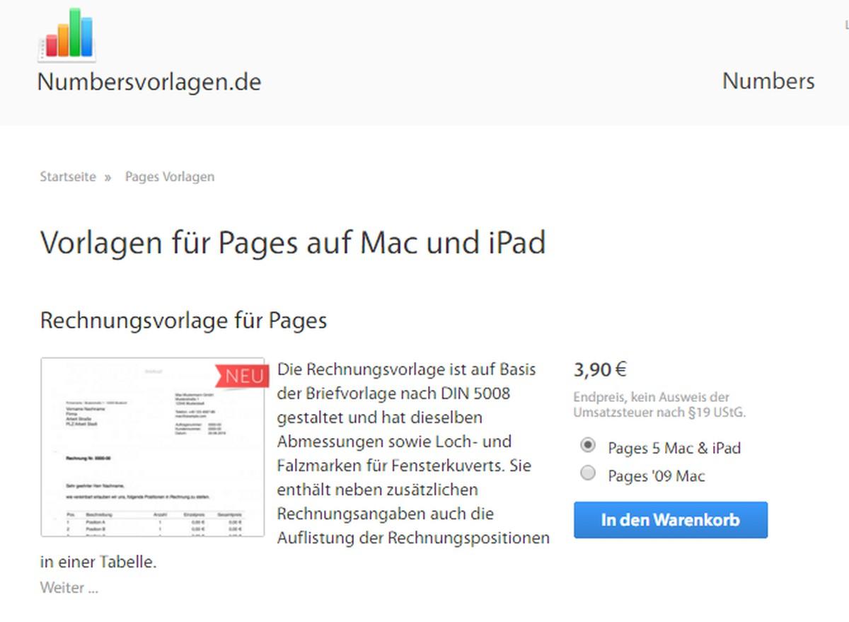 Mac Vorlagen Fur Pages Hier Gibt S Welche Zum Download Chip