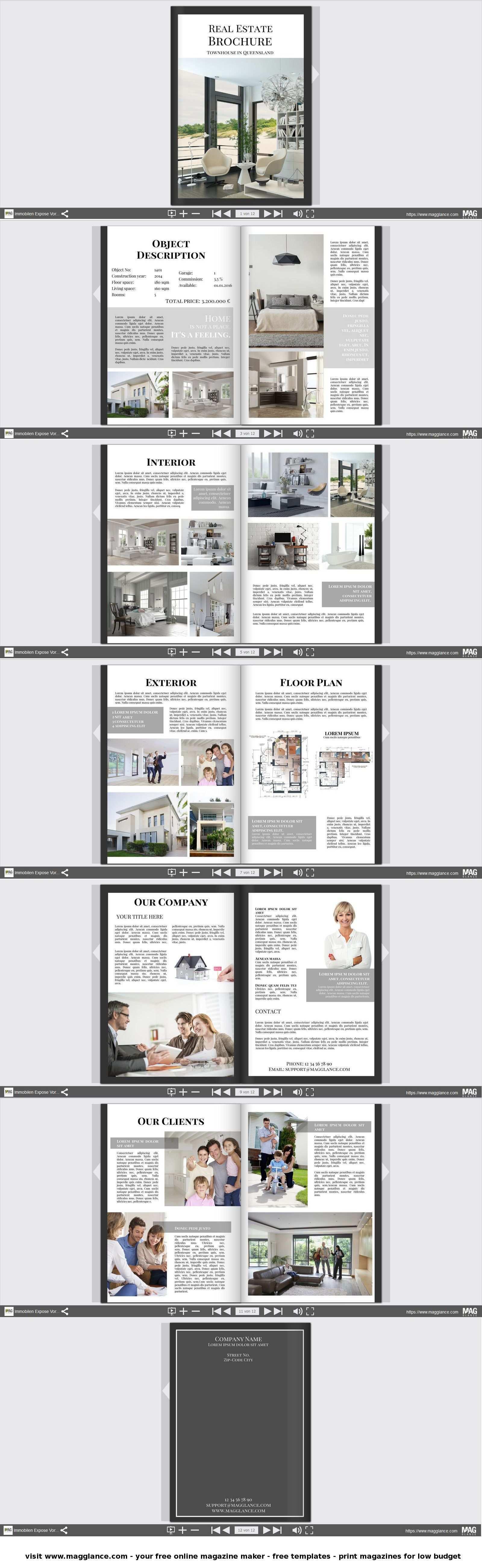 Immobilien Expose Kostenlos Online Erstellen Und Gunstig Drucken Unter De Magglance Com Immobilien Expose Wohnen Immobilie Expose Immobilien Immobilien Pose