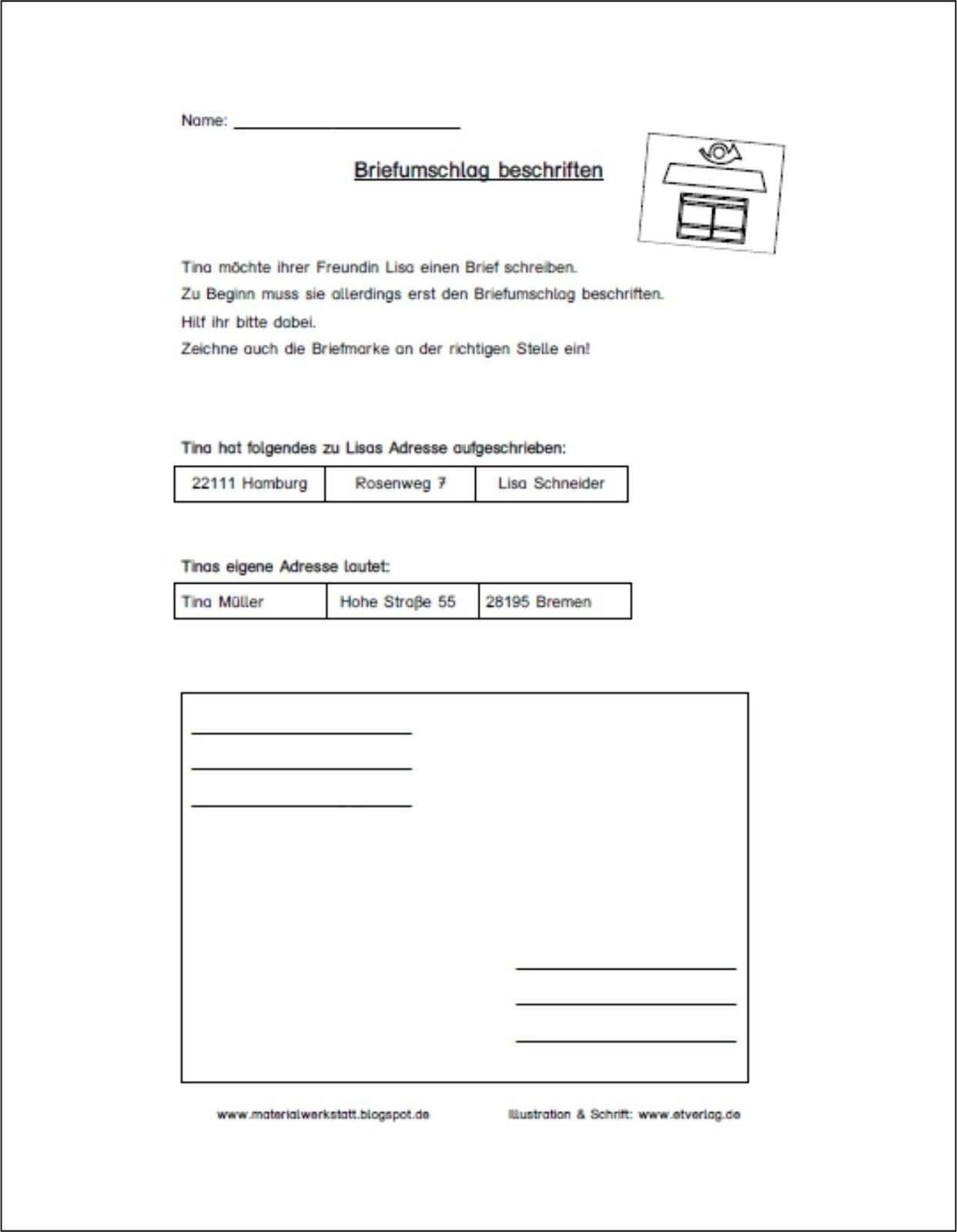 Unterrichtsmaterialien Ideen Tipps Fur Die Grund Und Forderschule Brief Schreiben Grundschule Briefe Schreiben Aufsatz Themen