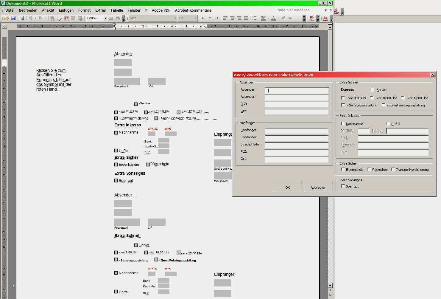 29 Elegant Paketschein Vorlage Word Vorrate Vorlagen Word Vorlagen Bewerbungsschreiben