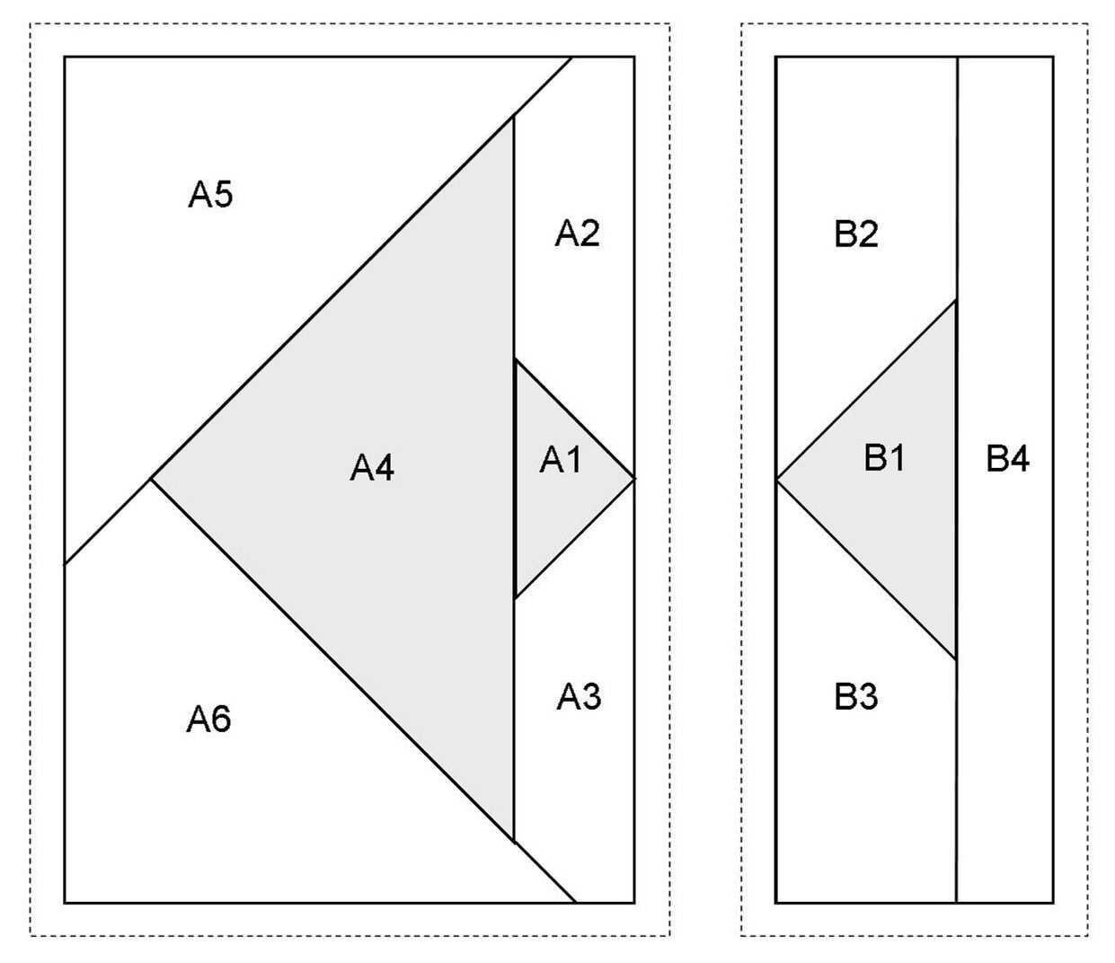 Paperpiecing Vorlage Fische Rundherum Nahen Auf Papier Fische Vorlagen