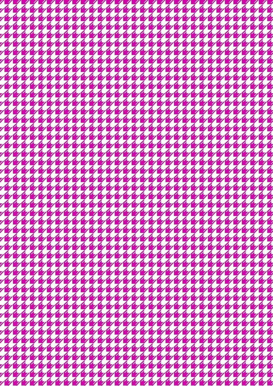 Free Printable Purple White Pattern Paper Dogtooth Pattern Papier Hintergrund Geschenkpapier Papier