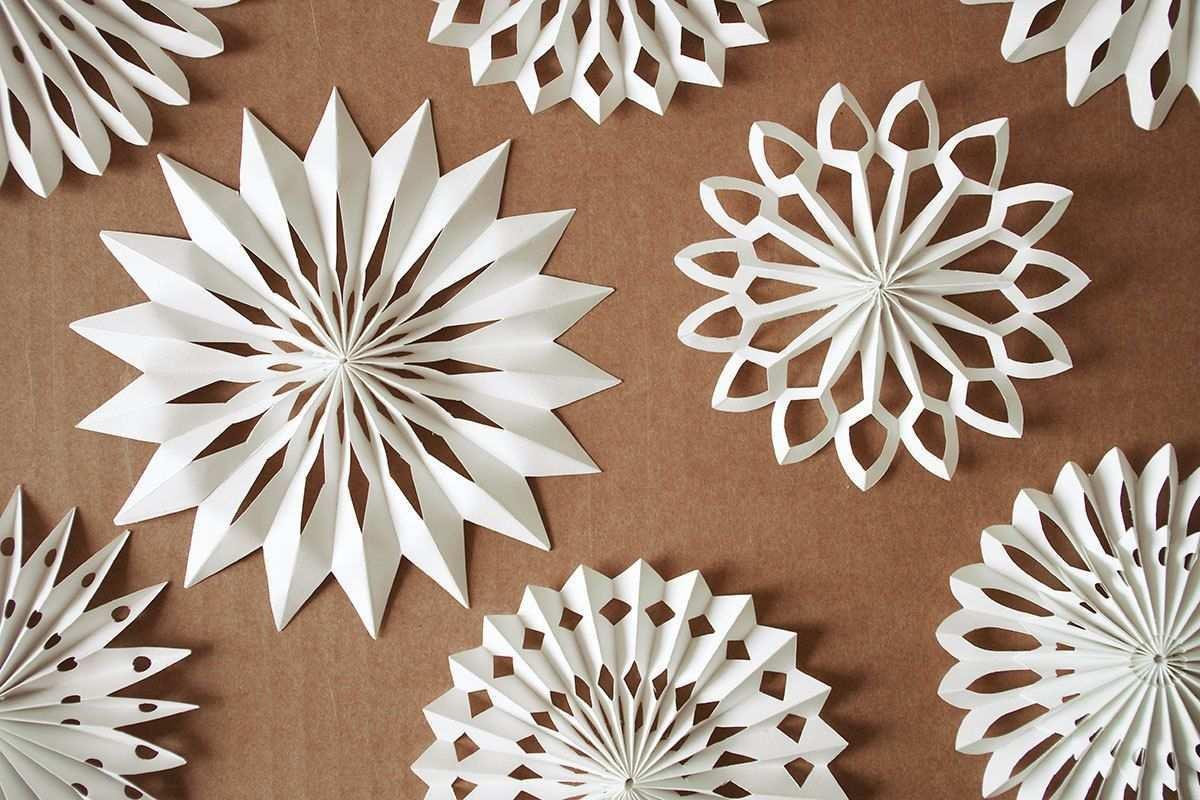 Material Weisses Papier Klebstoff Weissen Bindfaden Zwirn Schere Dicke Nadel Oder Lochzange 1 Papierstreifen Zuschneiden 42 Basteln Weihnachten Weihnachtsdeko Basteln Und Papiersterne