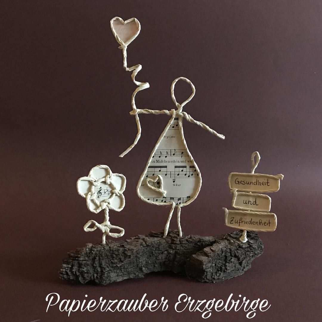 Papierdraht Papierdrahtfiguren Paperwire Paperart Handmade Paper Papier Papierzauber Basteln Mit Papierdraht Basteln Mit Draht Papier