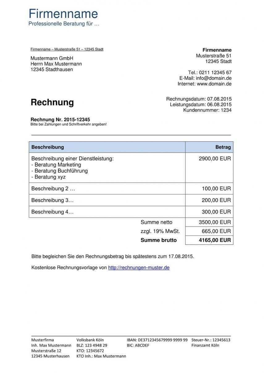 Blattern Unsere Das Sample Von Musiker Rechnung Vorlage Rechnung Vorlage Rechnungsvorlage Rechnungen Schreiben