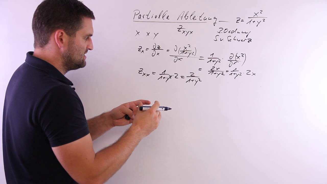 Partielle Ableitung 3 Ordnung Mit Tricks Mathe By Daniel Jung Youtube