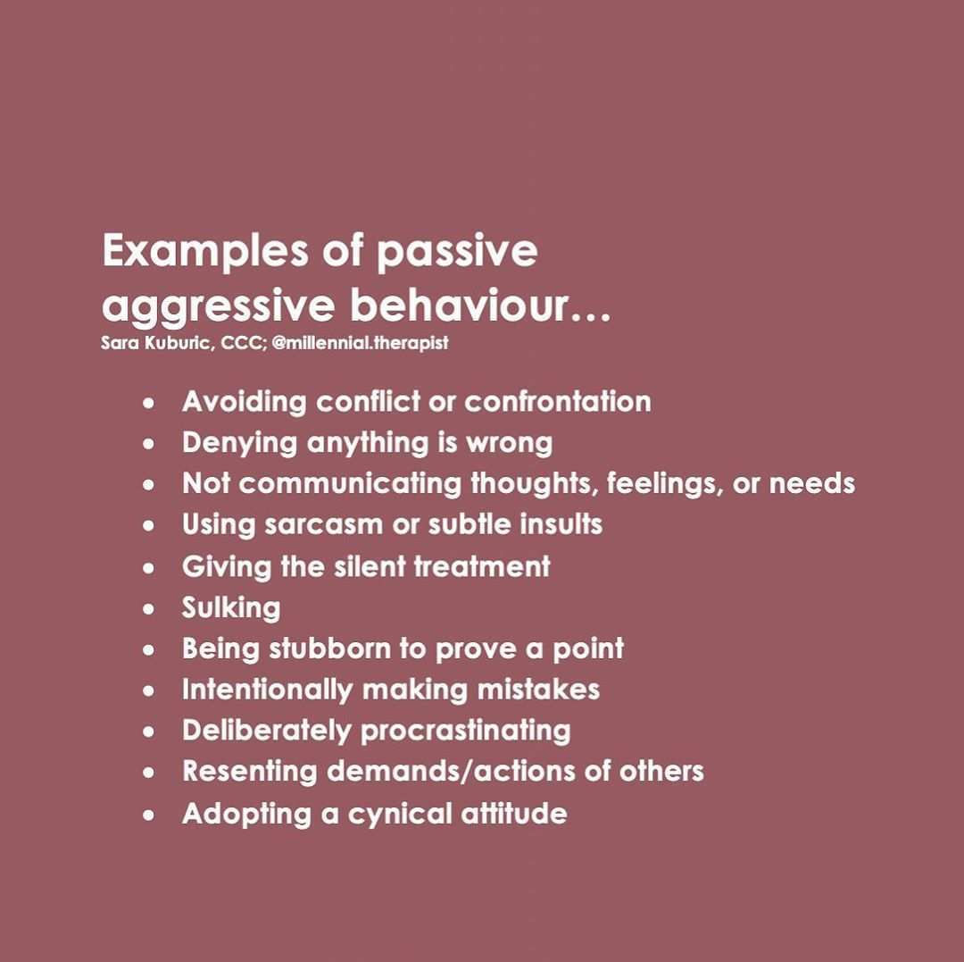 Sara Kuburic Ma Ccc On Instagram Passive Aggressive Behaviour Can Be Very Damaging To Our Mental And Emotional Health Emotional Health Emotional Awareness