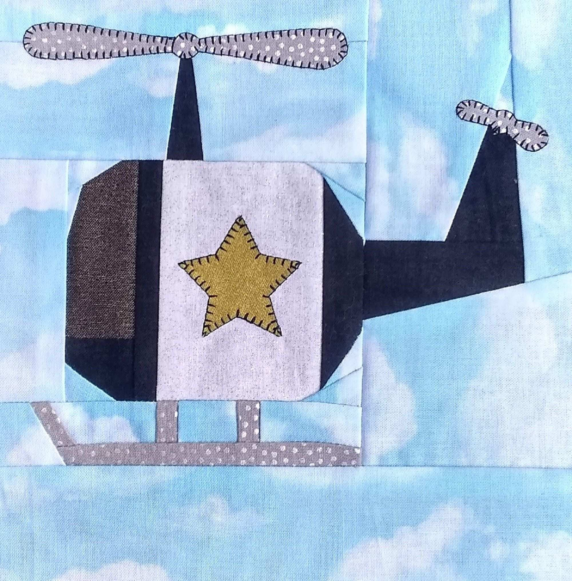 Helicopter Pdf Quilt Block Pattern In 2020 Quilt Block Pattern Pattern Blocks Quilt Blocks