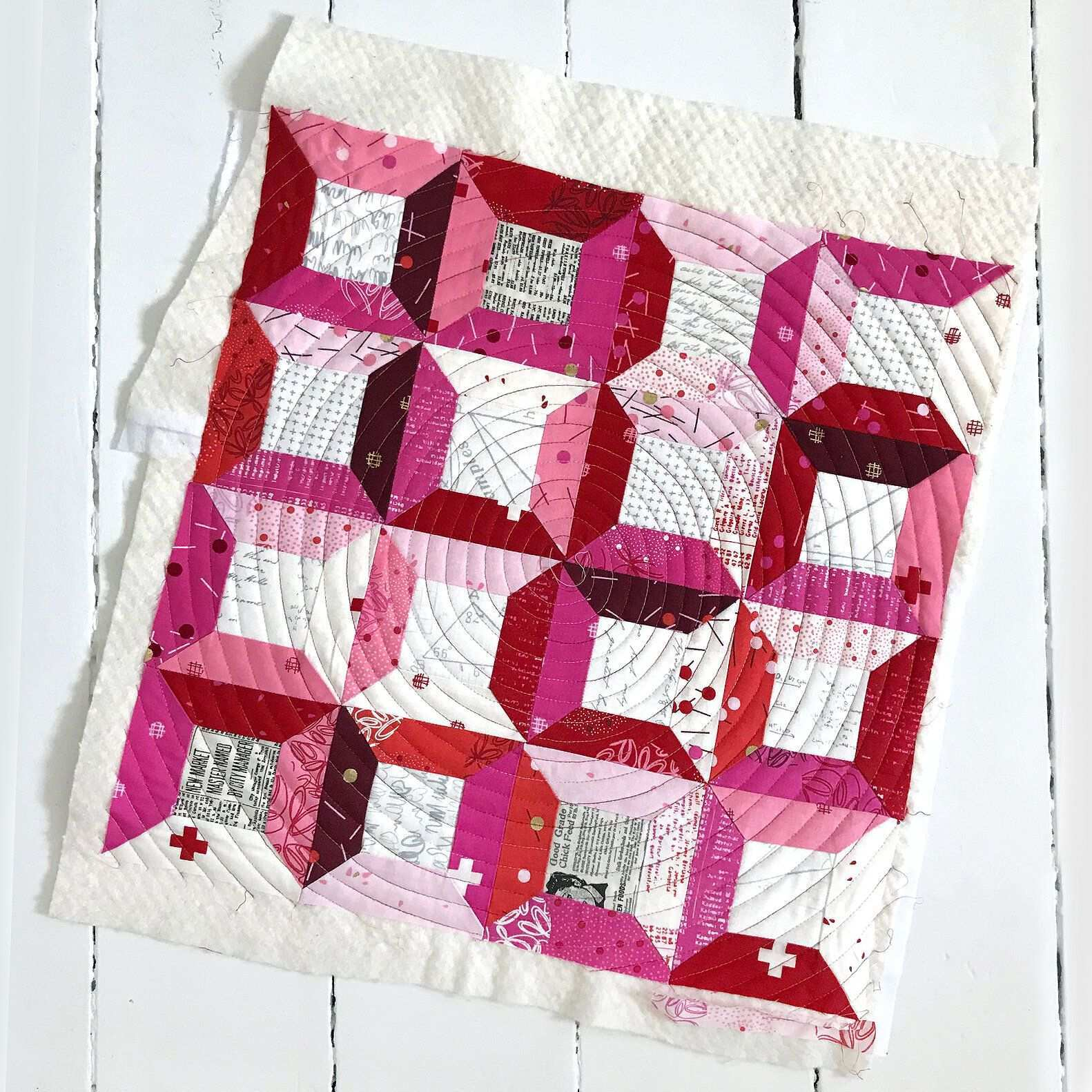 Sew The Town Square Pillow Free Block Pattern For Block 11 Blockheads 2020 In 2020